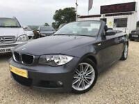 BMW 1 SERIES 120I M SPORT Grey Manual 2.0 Petrol, Automatic, Convertible, 2008