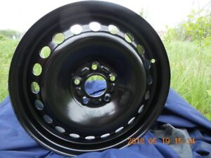 (4)  NEW BLACK  RIMS FOR FORD 16 INCH