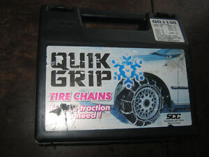 Tire chains - $30