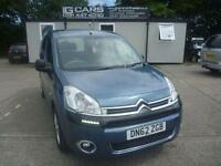 2013 62 CITROEN BERLINGO MULTISPACE 1.6 HDI PLUS 5D 91 BHP DIESEL