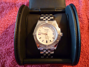 BREITLING HEADWIND DAY/DATE 43MM STAINLESS STEEL A45355