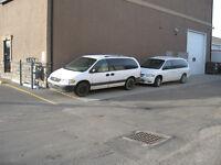 1998 Dodge Caravan Minivan, Van 2 for the price of 1