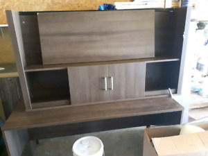 Very nice desk and bookcase FREE
