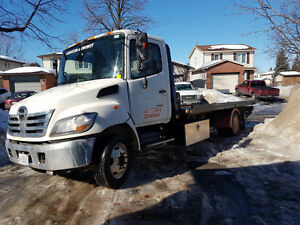2007 Hino Flatbed Tow Truck