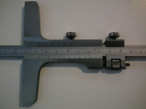 "Vernier 8"" Depth Gage/Gauge for machinist"