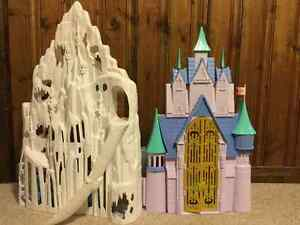 Frozen  Barbie Doll Castle