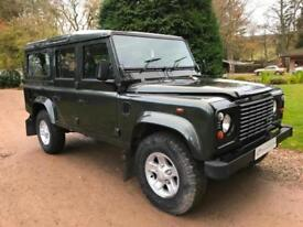 ICONIC LAND ROVER DEFENDER 110 COUNTY SW 9ST TD5 2006 2.5TD5 F/S/H