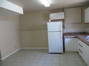 TWO BEDROOMS BASEMENT AVAILABLE IMMEDIATELY OR FROM JUNE 1ST