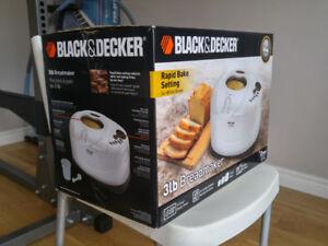 Black & Decker All-in-one Bread Maker