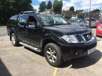 Nissan Nanvara Double Cab Pick Up Acenta 2.5 dci 4wd