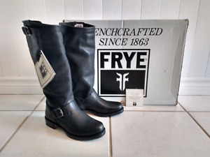 New Frye Size 6.5 Veronica Tall Leather Boots