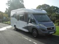 HOBBY OPTIMA DELUXE T65 HFL 2016 German built motorhome with front drop down bed