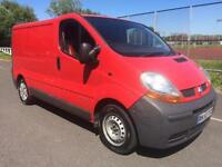 Renault Trafic 1.9TD dci COMPLETE WITH M.O.T AND WARRANTY HPI CLEAR