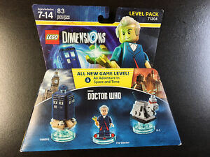 Lego dimensions Level Pack Dr. Who et Back to the Future