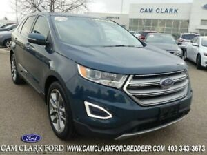 Ford Edge Titanium Heated Cooled Front Seats Heated Stee
