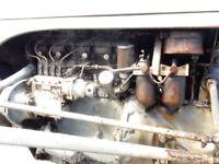 MASSEY FERGUSON GREY FERGIE 2092cc 4 CYLINDER DEISEL 1953 REG NO KUJ 7 TRACTOR