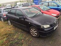 53 plate vauxhall Astra 1.6 petrol 5 door black