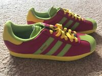 Adidas mi customised trainers size 7 uk. NEVER BEEN WORN.