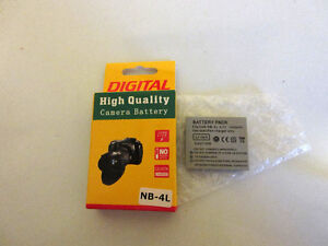 Camera Battery NB-4L (new)