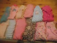 over 160 pieces of baby girl clothing