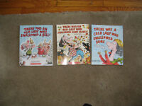 Primary reading  Book The Old Lady who Swallowed the Leaves