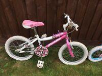 2 girls bikes