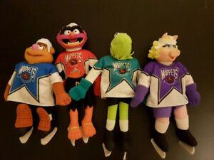 Vintage Muppets McDonald's Plush NHL Hockey Set 1995