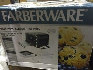 Faberware convection countertop oven toast broil rotisserie