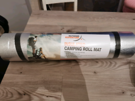 Outdoor adventure Insulated camping roll mat