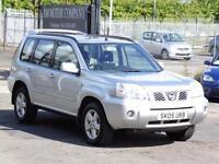 Nissan X-Trail 2.2 DCi 2005 Sport, Silver, 6 Month AA Warranty, Long Mot