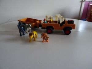 Ancien Fisher Price 304 Adventure People Wild Safari 1975