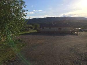 3 Bedroom House on acreage in Merritt