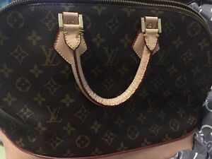 Louis Vuitton bag, $30.