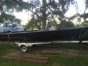 Boat/trailer for sale or trade