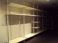 IKEA Stoleman. Uprights, shelves and rails.