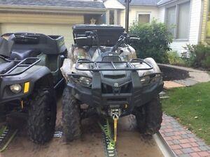 2009 Yamaha Grizzly 550cc hunters editon