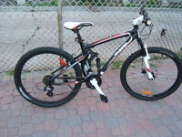 KRANKED JS 2011 24-SPEED DS BIKE.