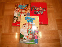 FAMILY GUY 3 DVDs SETS - VOL - 5, 6, 7 NOT USED
