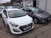 Hyundai I 30 x2 15 and 65 plate Manuel and automatic