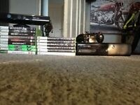 XBox 360 Kinect contoler and 15 games