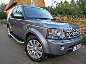 2011 LAND ROVER DISCOVERY 4 3.0SD V6 ( 255bhp ) AUTO HSE. 7 SEATS !!