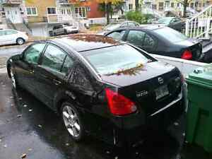 Nissan Maxima for P A R T O U T **started partout