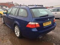 2008 BMW 5 Series 2.0 520d M Sport Touring 5dr