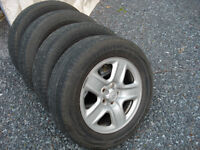 Toyota Rims and tires 17 inch.