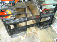 "2014 Pallets forks 48"" new cond."