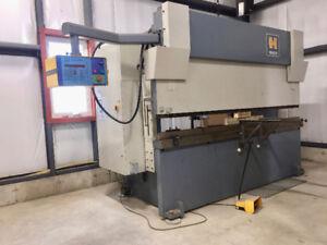 HACO 150-ton Hydraulic Press w/ATS 560 controller