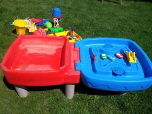 Little Tikes sand and water table