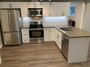 2 BD + 1 Office Suite, Ground Level, Bright & Recently Renovated