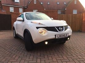 2013. Nissan Juke Tekna Dig-T Auto, low miles, lady owner