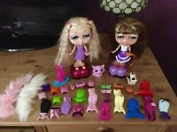 2 DivaStarz Interactive Dolls, Pets, Clothes & Accessories